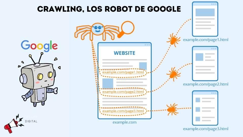 Crawling bots de google