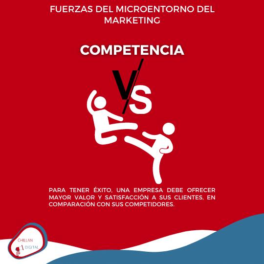 competidores Fuerzas del Entorno Plan de Marketing 10