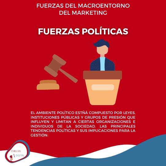 Fuerzas política y legal del Entorno Plan de Marketing 5