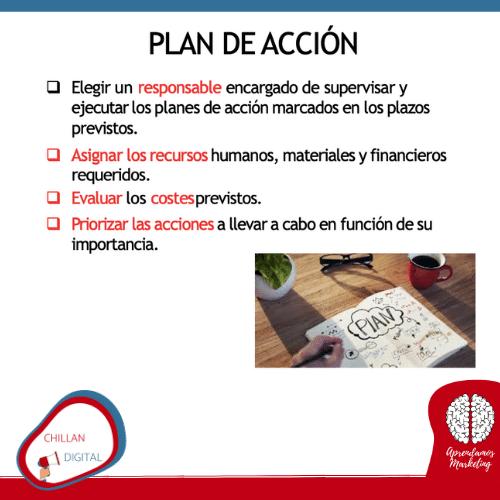 Plan de acción plan de marketing