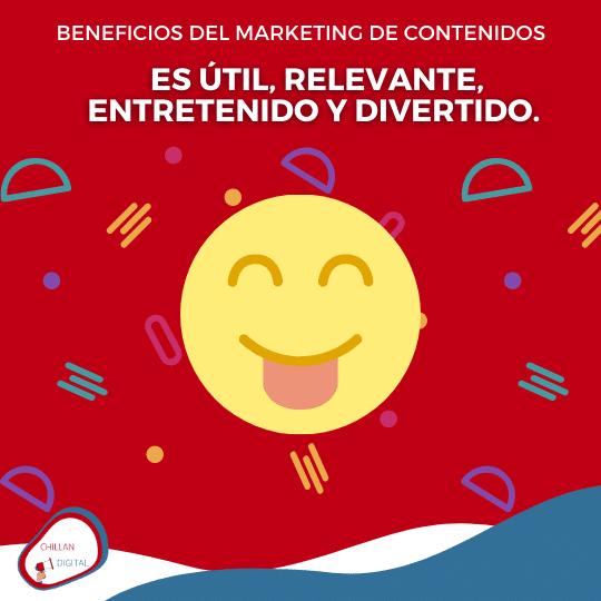 BENEFICIOS DEL MARKETING DE CONTENIDOS 2