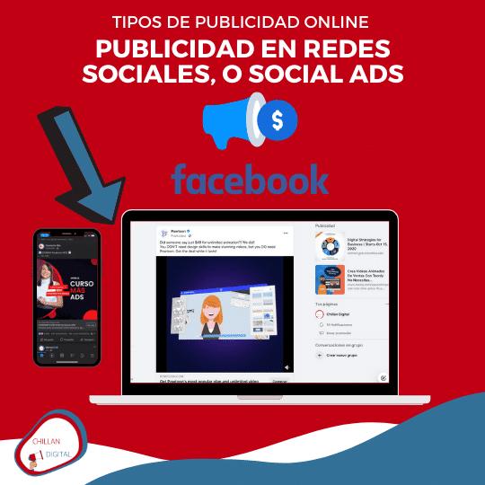 tipos y formatos de publicidad online para empresas 2020 Facebook Ads