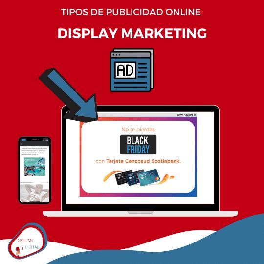 tipos y formatos de publicidad online para empresas 2020 Display Marketing
