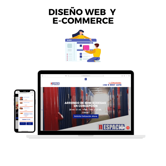 Publicidad online diseño web chile
