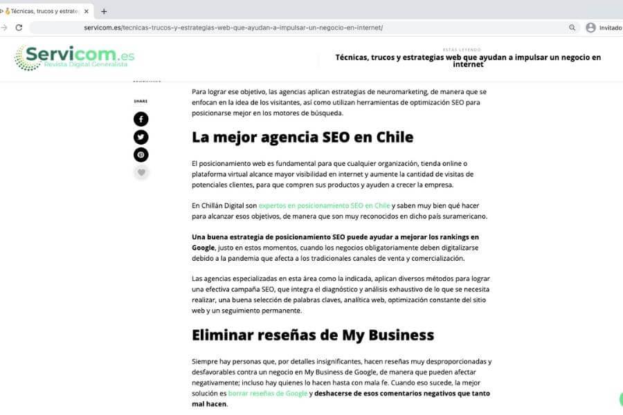 Expertos SEO en Chile