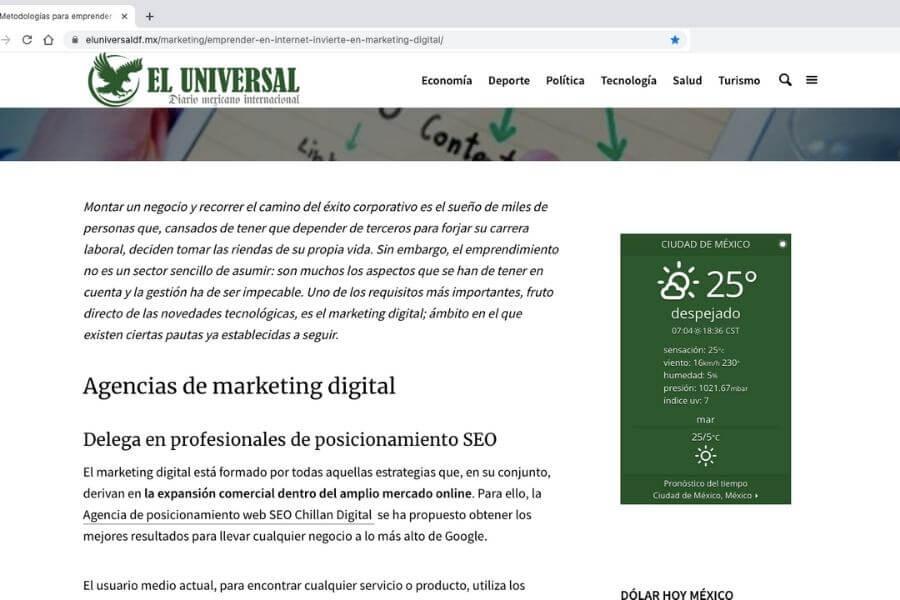 La Mejor empresa de posicionamiento SEO en Chile 8