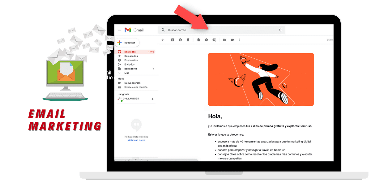 Publicidad online Email Marketing