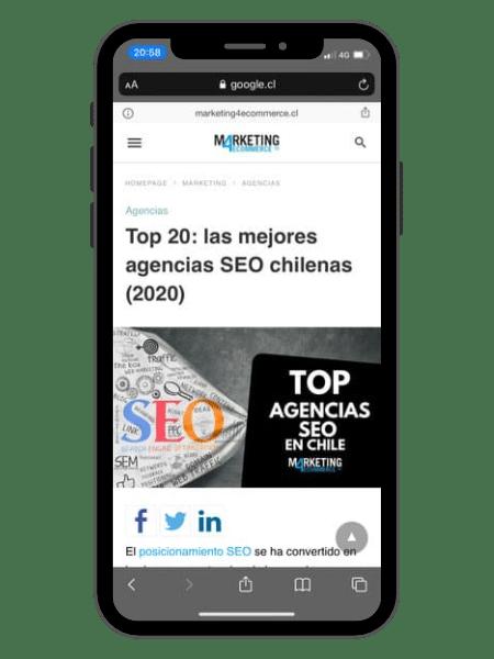 Mejor Agencia SEO en Chile